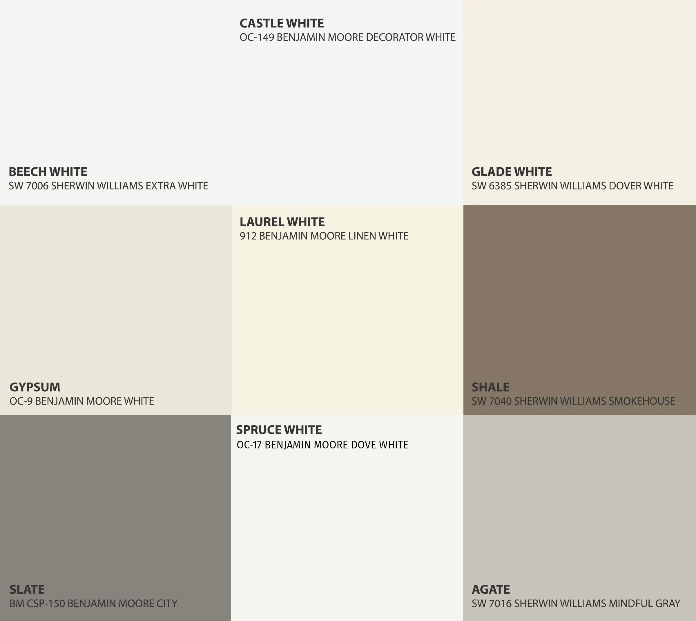 painted color swatches
