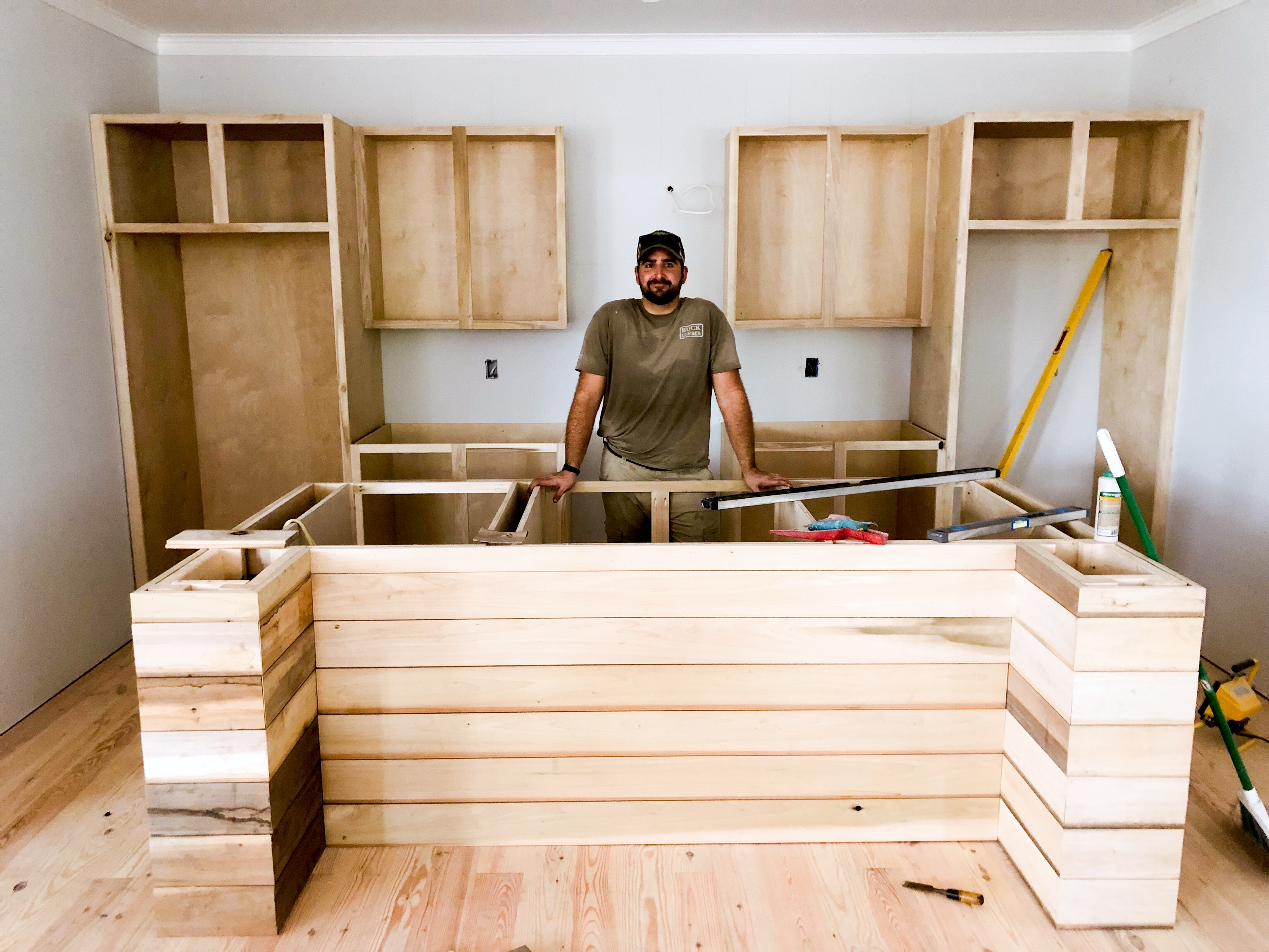 First Time Cabinet Builder Joey H Of